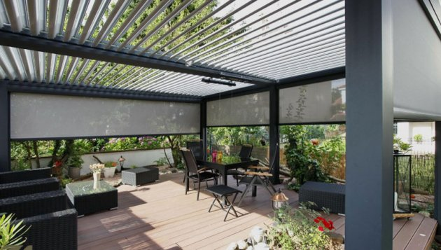 Las p rgolas una soluci n sencilla para crear espacios - Terrazas con pergolas ...