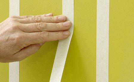 C mo pintar a rayas una pared - Como pintar una pared ya pintada ...