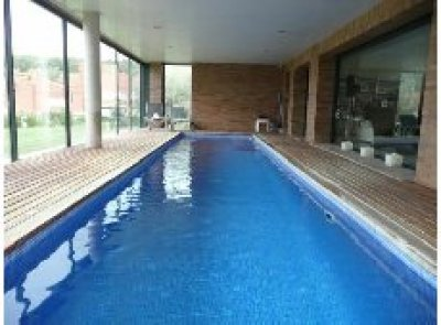 piscina cubierta en mi casa