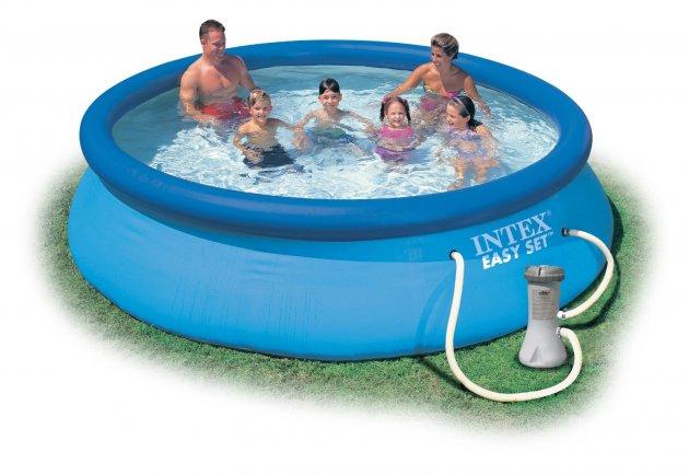 piscina hinchable depuradora
