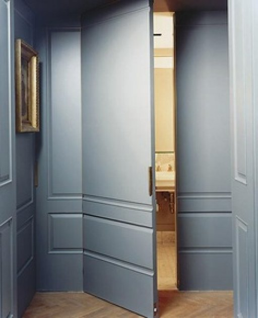 Decoracin de interior Las puertas lisas y las puertas plafonadas