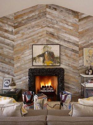 Revestimientos de madera para nuestras paredes - Revestimiento de paredes interiores en madera ...