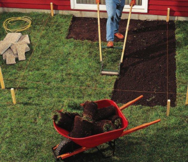 Cmo hacer un solado de terrazo in situ en el jardn de mi casa - Como hacer un jardin en casa ...