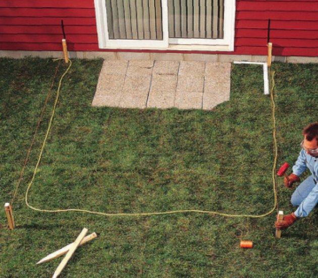 C mo hacer un solado de terrazo in situ en el jard n de mi for Baldosas para el jardin