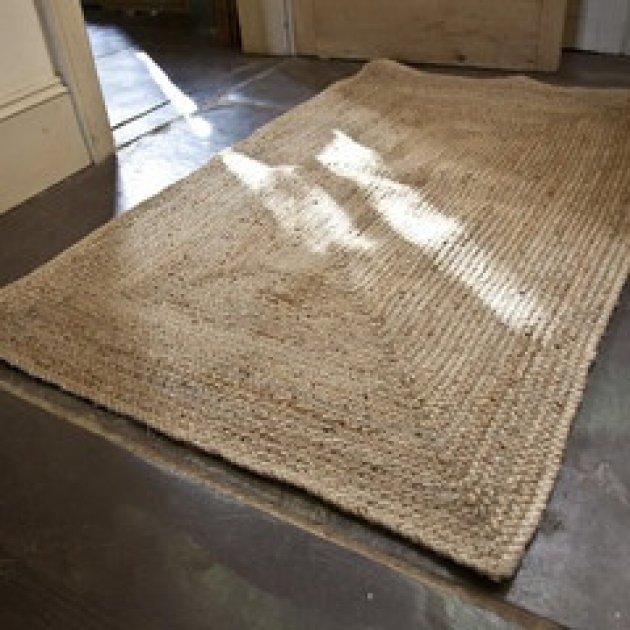 Telas y tejidos naturales la seda el junco el sisal el - Alfombras de canamo ...