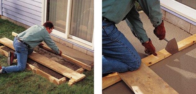 Cmo hacer un pavimento de terrazo in situ parte iii - Como hacer un suelo de hormigon ...
