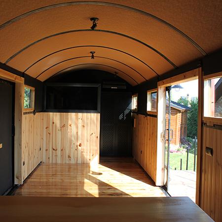 Aprovecha un vag n de tren para hacer tu casa - Como reformar tu casa ...