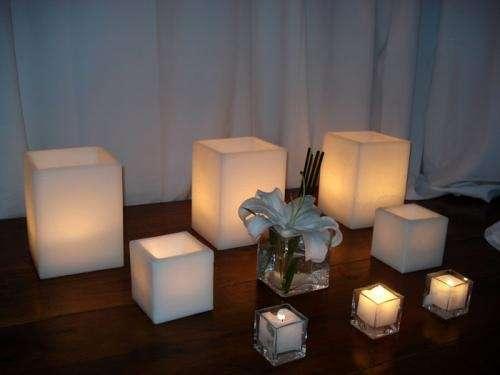 Iluminación con velas LED