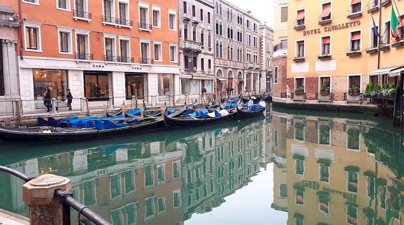 Aguas cristalinas Venecia