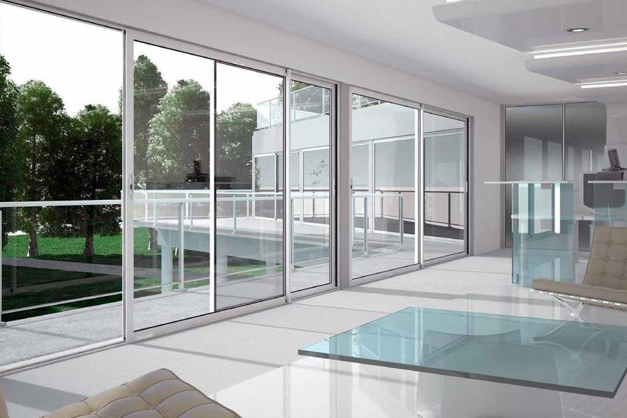 Beneficios de las puertas correderas de aluminio.