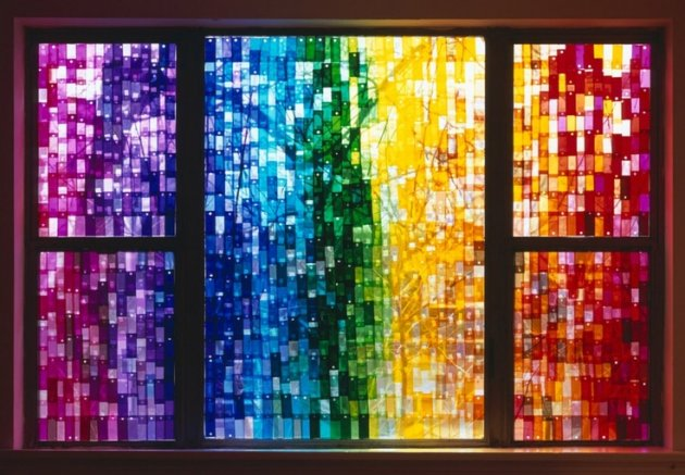vidrieras con papel de colores celofn manualidad cmo hacer vidrieras con papel celofn