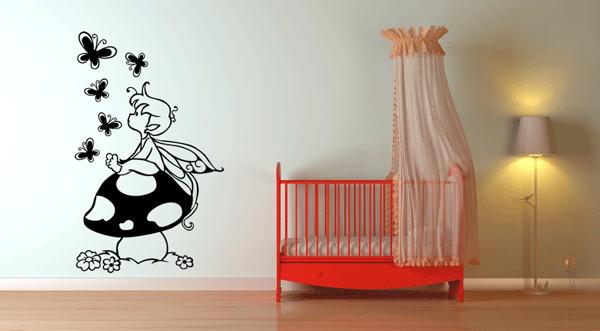 Ideas para cambiar la decoracin de tu casa los vinilos de for Vinilos dormitorios infantiles
