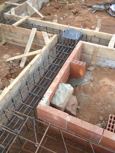 Rehabilitando una casa de campo la cimentaci n - Como se construye una casa ...